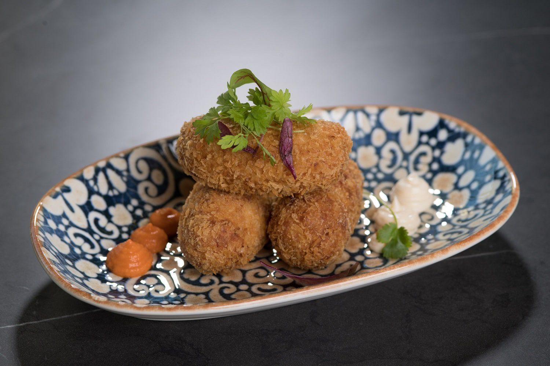 Croquettes Entree at Saros Bar + Dining