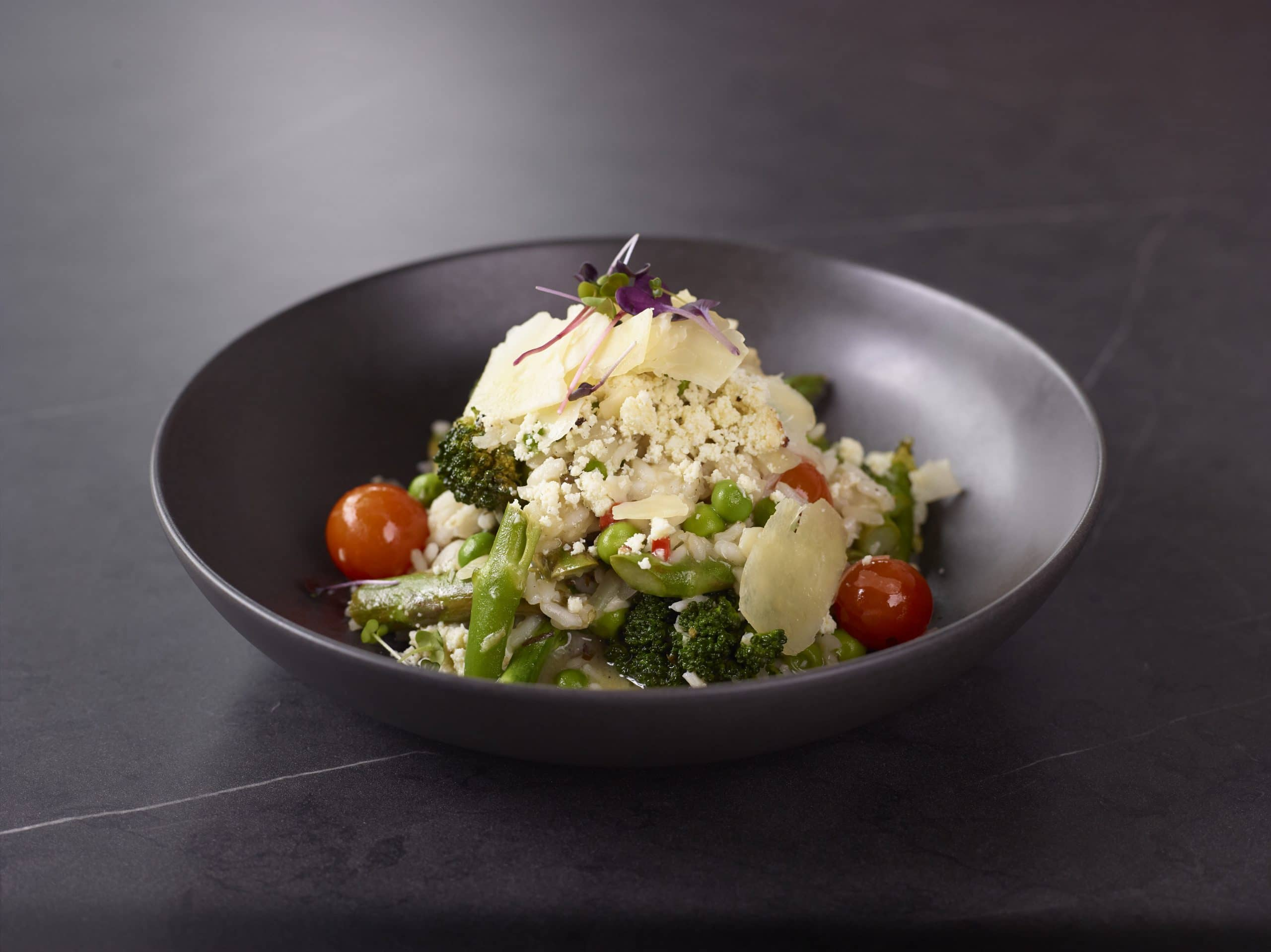 Fresh Vegetable Risotto